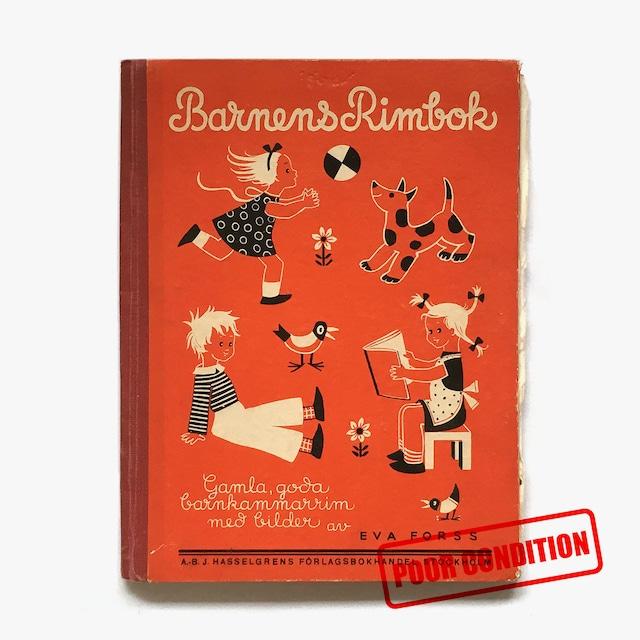 エーヴァ・フォシュ「Barnens Rimbok(こどものための韻文集)」《1949-01》