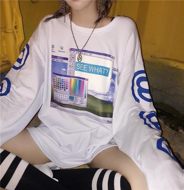 ペイントロングTシャツ / HWG046