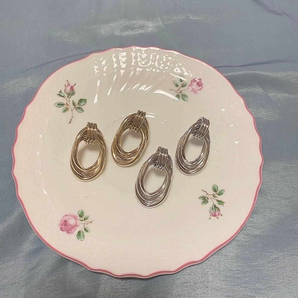 【SSC atelier】metallic pierce (gold)