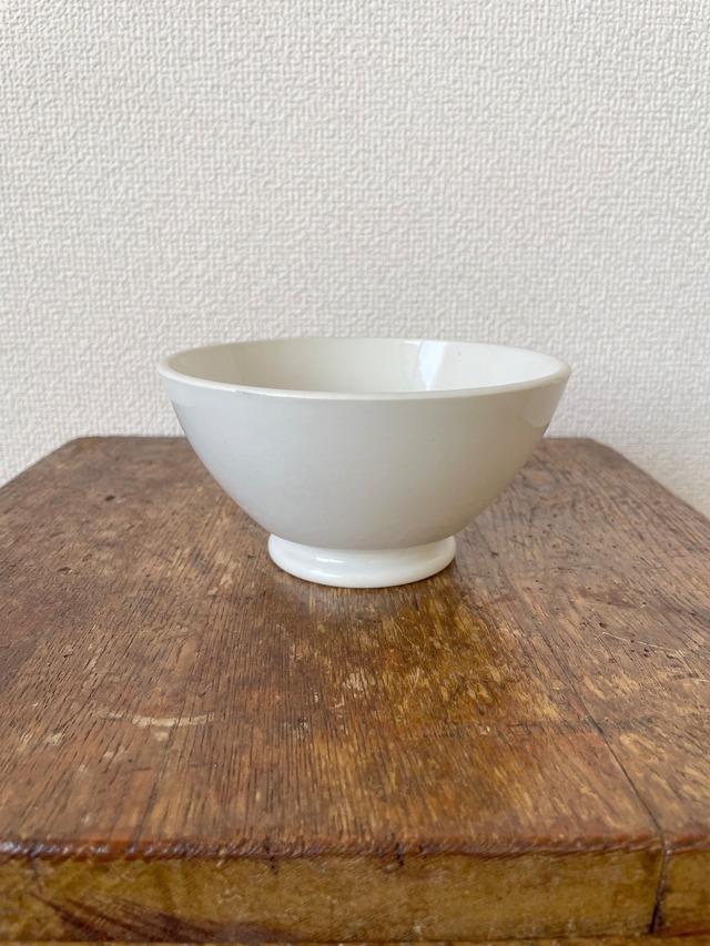 【フランス】白いカフェオレボウル / 1970's
