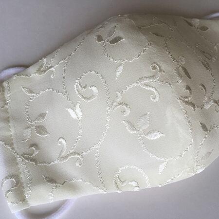 クチュール絹マスク(シフォン)やや大きめサイズ