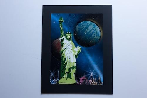 The Statue of Liberty (額入り特別作品)