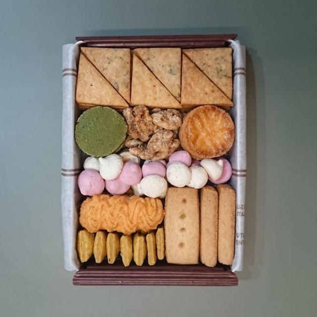 店頭お渡し:ひつじ組のクッキー缶【おつまみ】