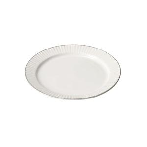 aito製作所 「ティント Tint」プレート 皿 M 約17cm ホワイト 美濃焼 289006