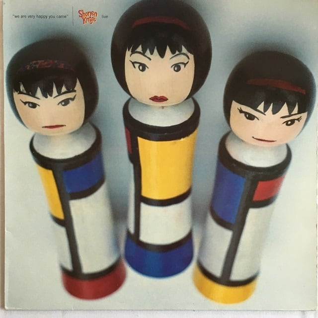【12inch・英盤】Shonen Knife / We Are Very Happy You Came