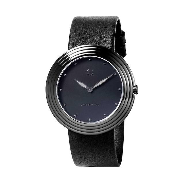 B009-01 Nove ストリームライナー スイス製 腕時計 Women  Black