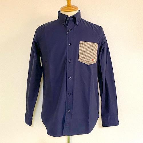 Oxford Switch-Pocket BD Shirts Navy