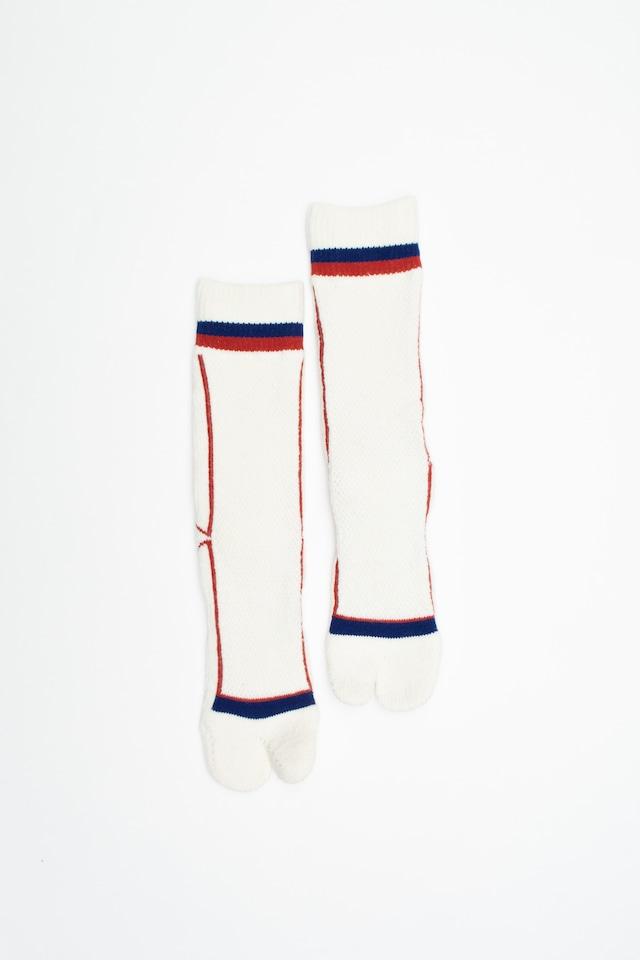 Pile&Mesh Socks(White)