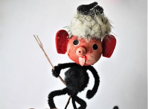 モール人形 悪魔人形 ピック人形 チェコ