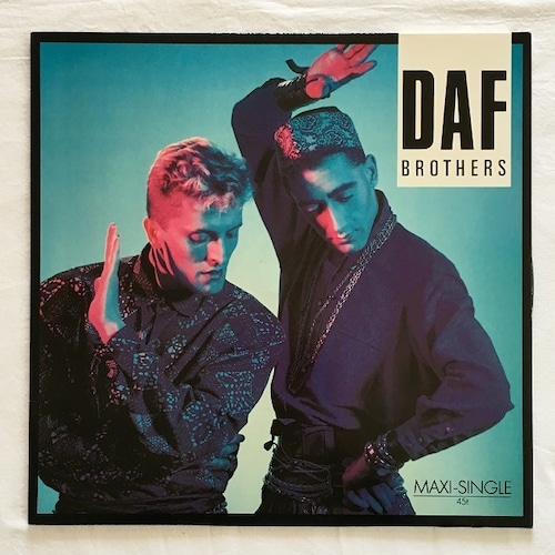 【12inch・欧州盤】DAF  /  Brothers
