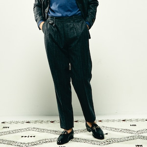 COLONY CLOTHING / ONE PLEAT TROUSERS WOOL FLANNEL VBC  / CC2102-PT01-05
