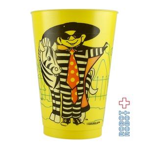 マクドナルド プラスチックカップ 動物園 ハンバーグラー ※難有り