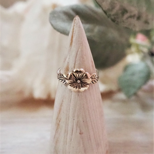 Hibiscus Ring《SILVER925》18380042【11.5号/14号/19号】