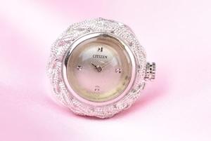 【ビンテージ時計】1970年代製造 シルバーケース シチズン指輪時計 日本製