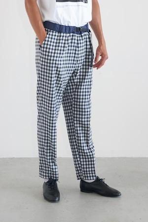 BARNSTORMER トロ Check easy pants