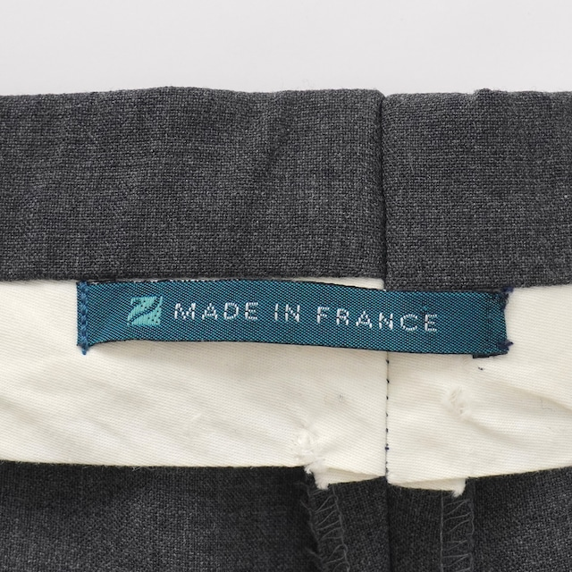 【MADE IN FRANCE】BERNARD ZINS2インタックストレートパンツ