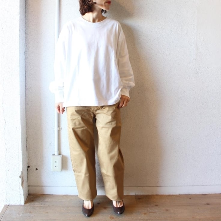 commencement(コメンスメント)/ Wide Long Sleeve Tee(ワイドロングスリーブティ)