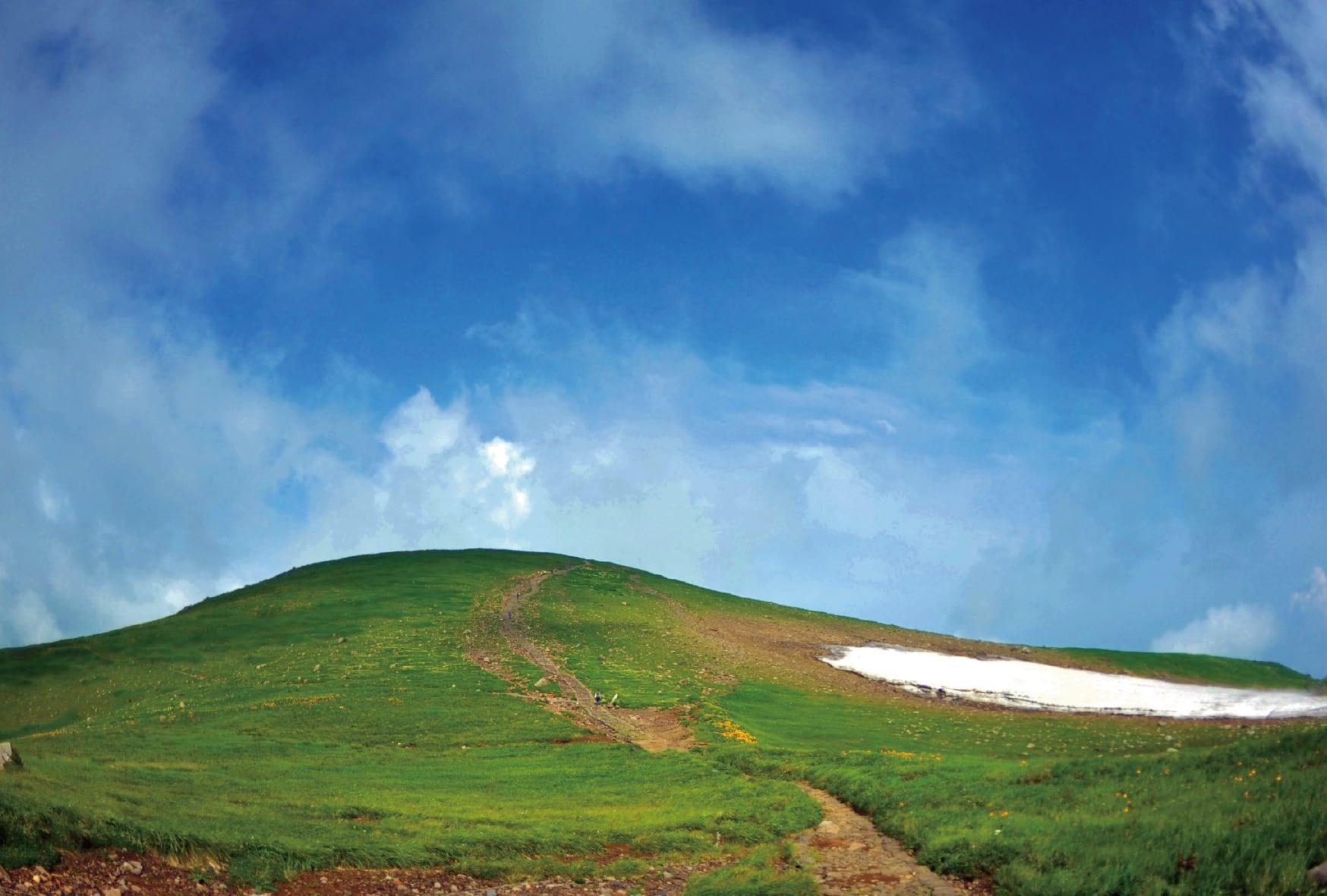 鳥海山ポストカード 5枚組B「GREEN」(m*wa)