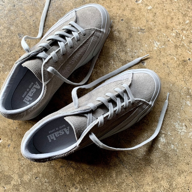 ASAHI  BELTED LOW SUEDE