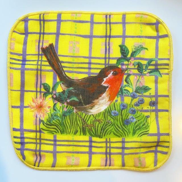 "Nathalie Lete ""Gauze Hand Towel"" Bird"