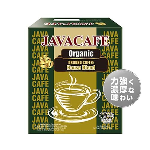 JAVACAFE(ジャヴァカフェ)Organic Ground Coffee ハウスブレンド(有機JAS認証レギュラーコーヒー 粉タイプ)