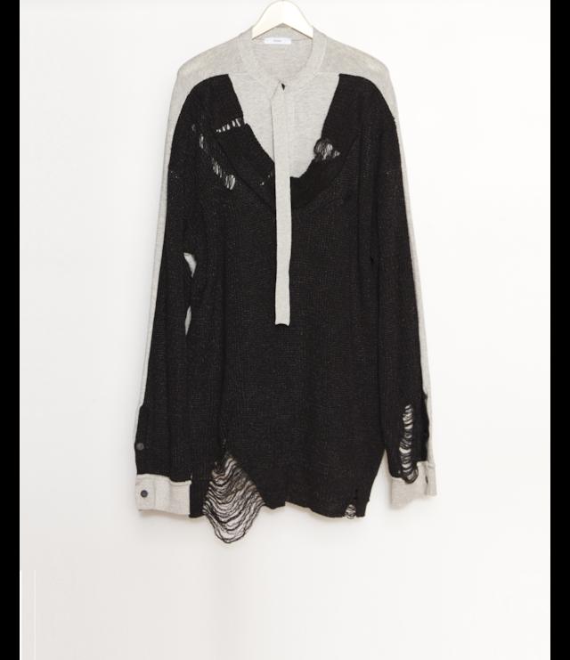 Fake Sweater / Black