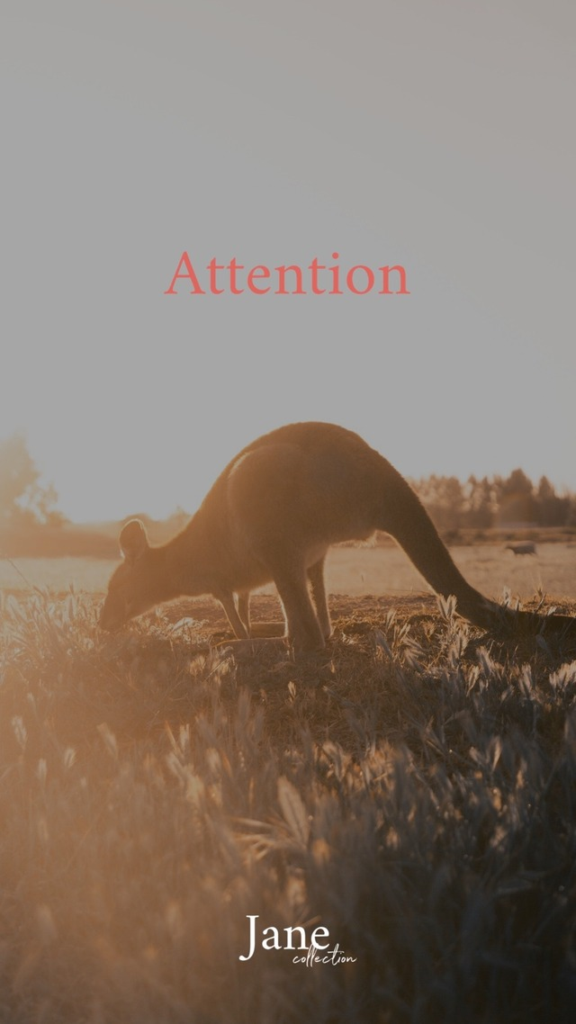 ▼ATTENTION▼