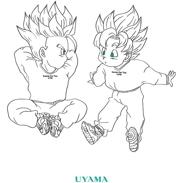 """DG """"KYOTO"""" Tee 【UYAMA】"""