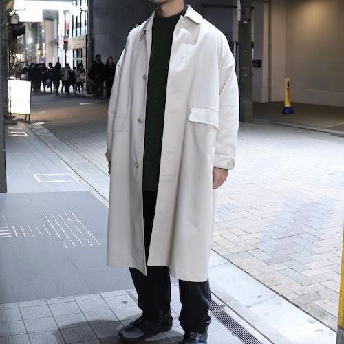 【SETTO】LEAF COAT (BEIGE)(UNISEX) 21SS  コート ユニセックス セット 日本製 MADE IN JAPAN 21SS