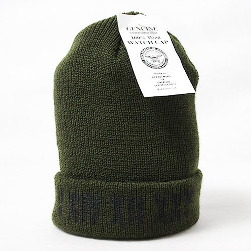 V XIV XII XXV WATCH CAP 【OLIVE】
