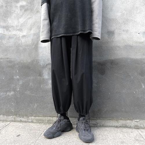 クロップドワイドジョガーパンツ BL9265