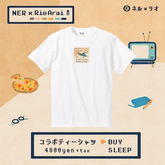 古着屋NER × Rio Arai コラボTシャツ