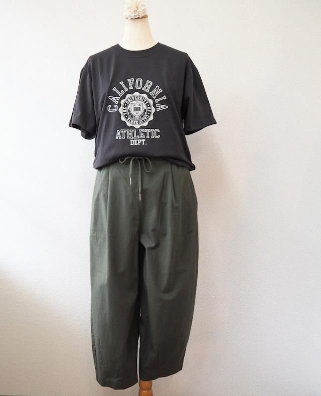 【SALE】tuck trousers  <khaki>