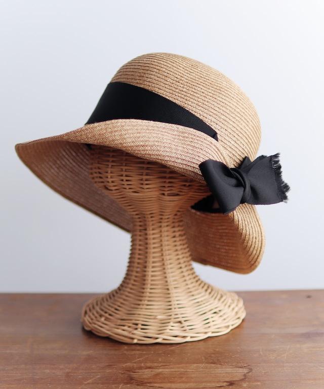 UV紫外線防止加工・リボンデザインの帽子(HUT03)