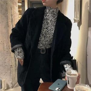 corduroy coat 2color