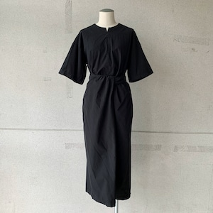 【COSMIC WONDER】Wrapped short sleeves dress /17240-1