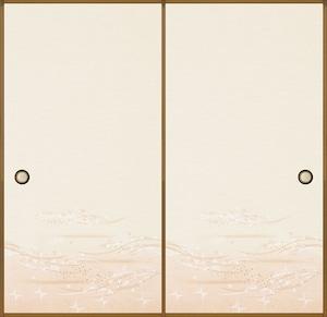 日新813(1枚柄) 織物ふすま紙 203cm×100cm 1枚