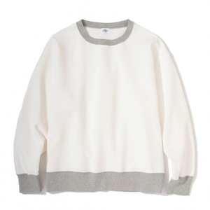 """Just Right """"Those Days Crew Neck"""" Off White x Grey"""