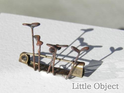 ブローチ - sprout broach - Little Object