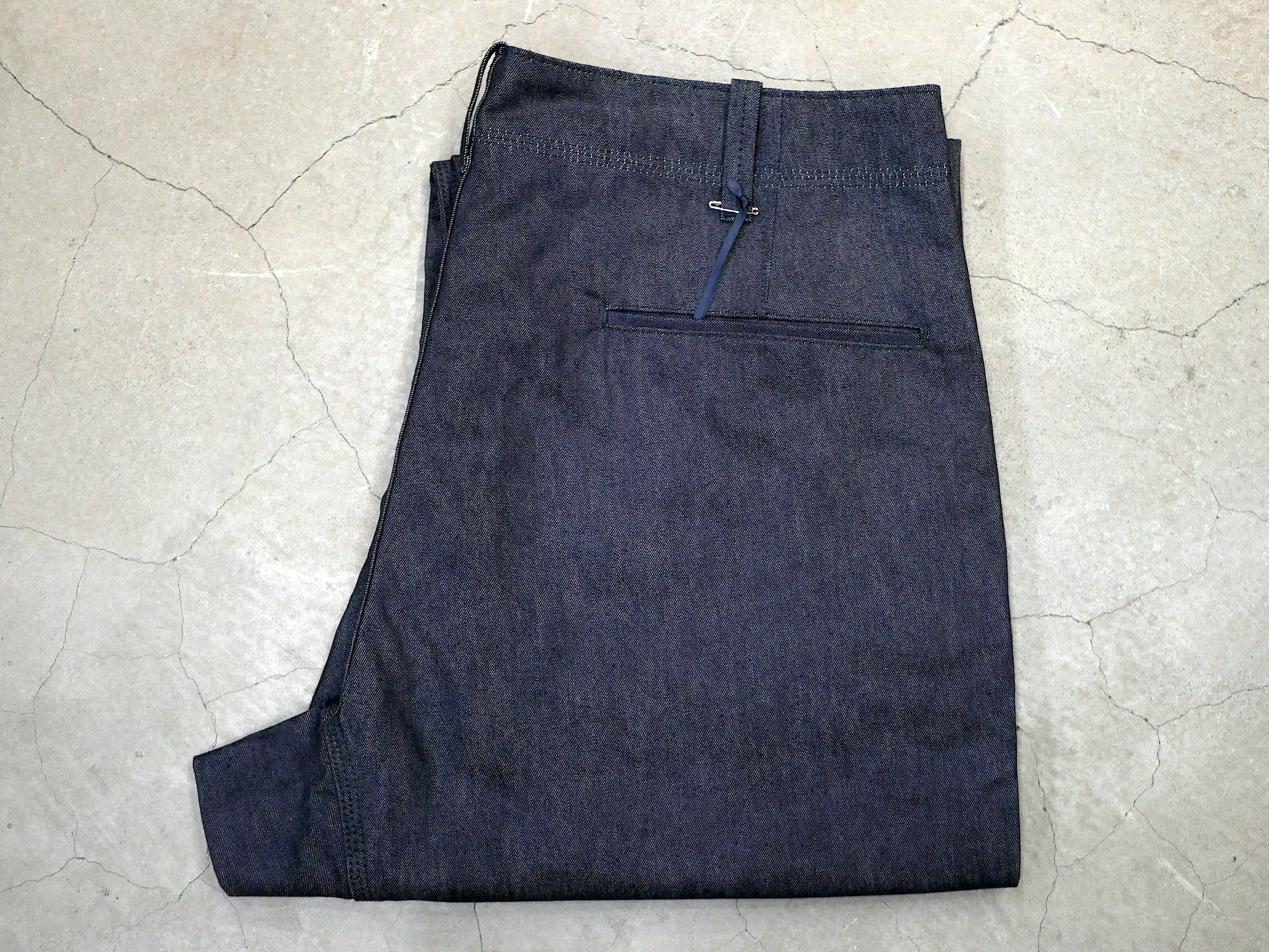BROWN by 2-tacs / WIDE PANTS (PAPER DENIM)