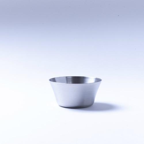 韓国ステンレス食器/カップ/深型(4号)【直径7.5㎝/高さ3.7㎝】