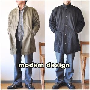 modemdesign  モデムデザイン スタンドボアコート  2006854 メンズ コート ミリタリーコート