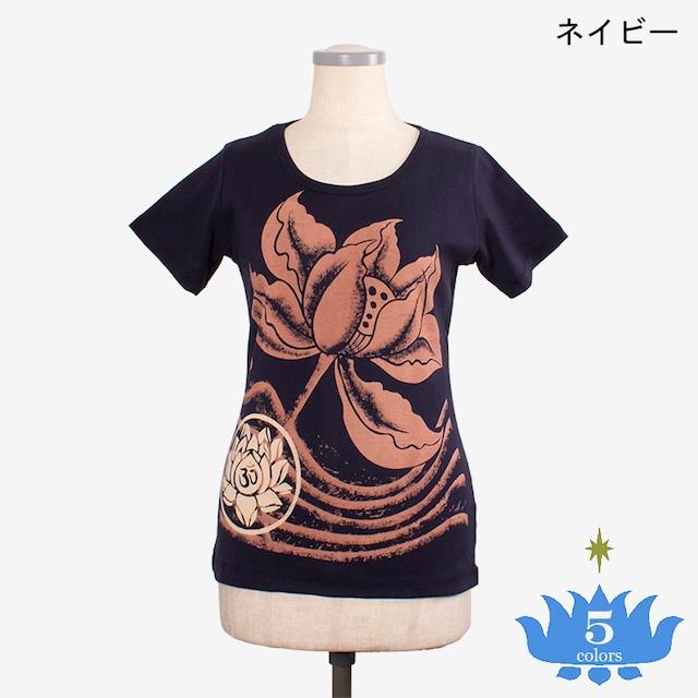 リブジャージーTシャツ ロータス3 Ribbed Jersey T-shirt Lotus3