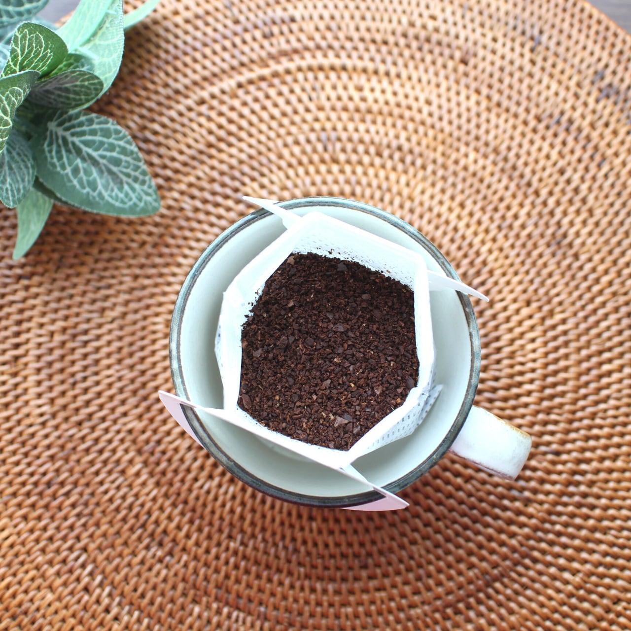 カフェインレス ドリップバッグ 10個入り ★お好きなコーヒー豆を選んでください★