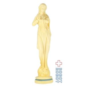 聖母マリア プラスチックフィギュア 身体の右側で祈り