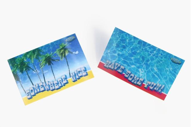 [C-24] 「BEACH」レンチキュラーカード