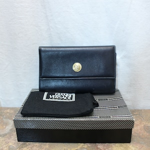 GIANNI VERSACE LATHER WALLET MADE IN ITALY/ジャンニヴェルサーチレザー財布