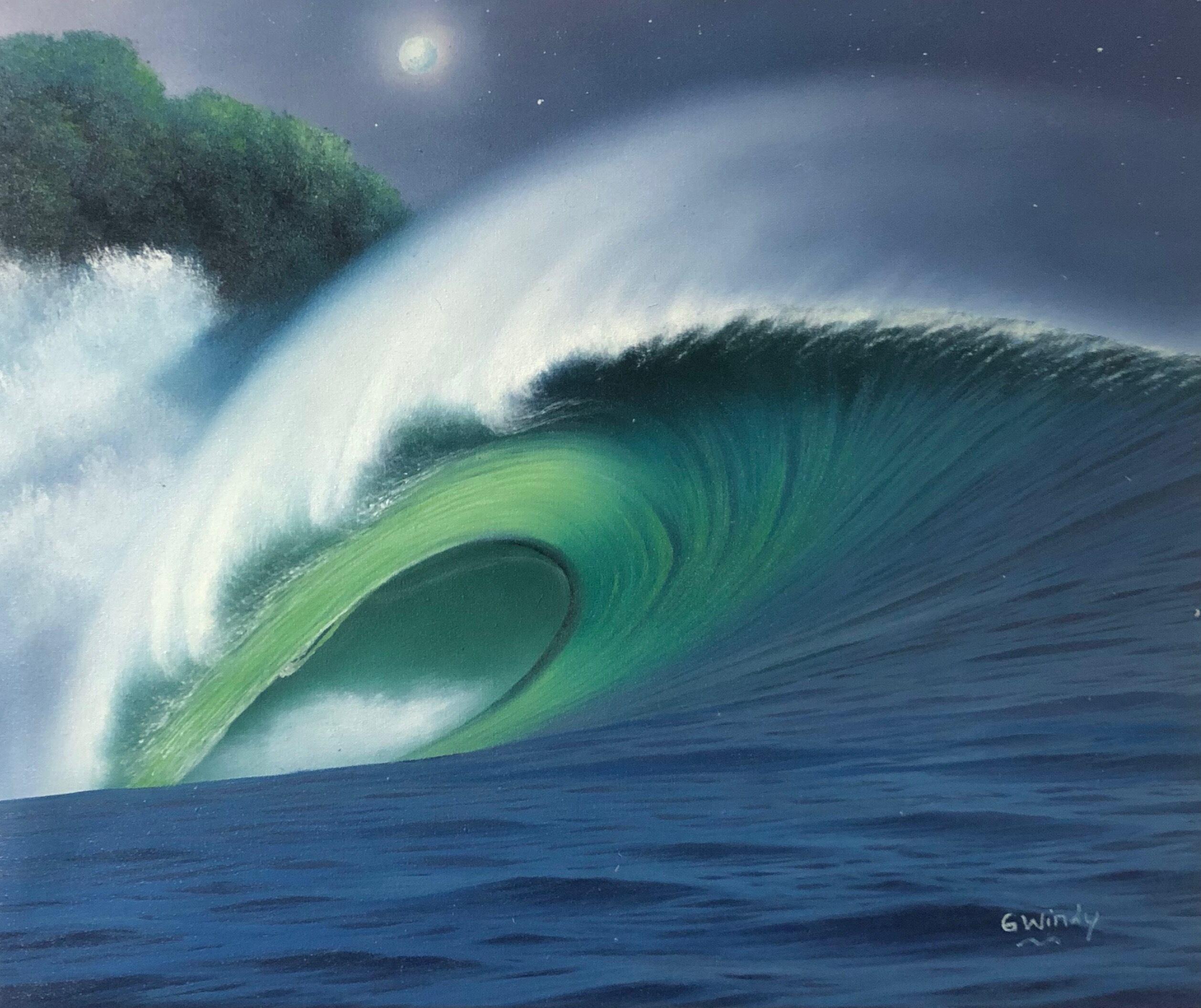 Dreamland Wave Art F8