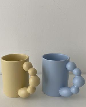 bubble handle mug