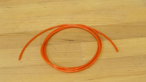 ウレタンオレンジベルト φ3x1m 【8mm映写機用代用ベルト】